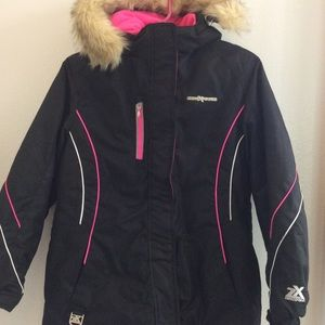 Exposure Girls cold weather puffer jacket